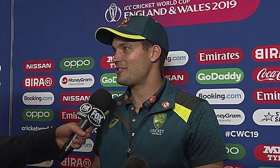 Alex Carey Speaks After Australia v West Indies | ICC Cricket World Cup 2019