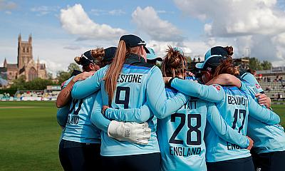 England Women Win Series at Worcester against West Indies Women