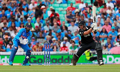 New Zealand's Ross Taylor in action