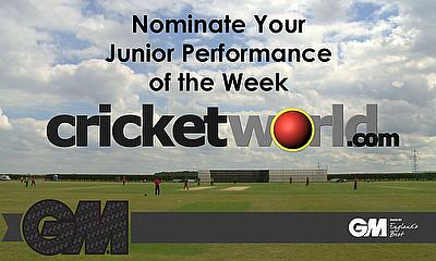 Cricket World GM Junior Performance of the Week for 2019