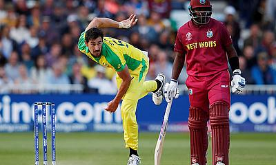 Australia's Mitchell Starc top of the wicket-taking charts at Cricket World Cup