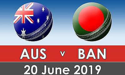 Cricket World Cup 2019 - Australia v Bangladesh