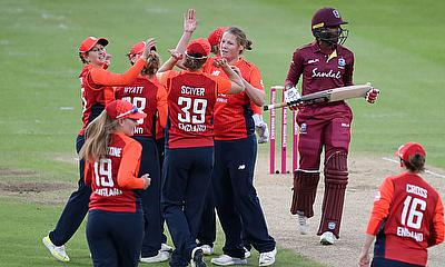 England Women beat West Indies in 2nd Vitality IT20
