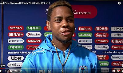 I almost cried actually........ Shimron Hetmyer - West Indies - Post Match Press Conference