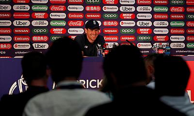 We've performed under pressure of being favourites for the last two years – Eoin Morgan