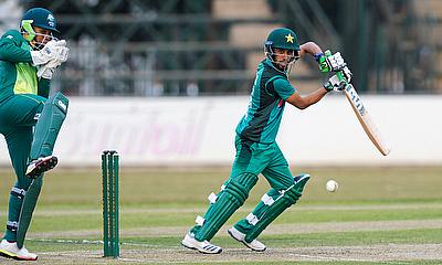 Khan, Nazir shine with bat to give Pakistan two-nil lead in Youth ODI series