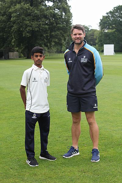 Tom Webley and Sahil Jadhav