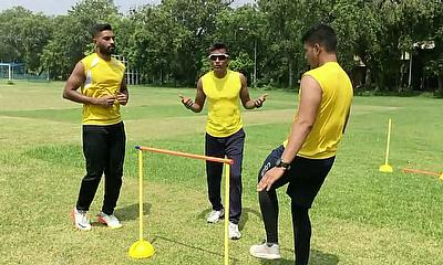 Fast Bowling and Fielding with Chinmoy Roy