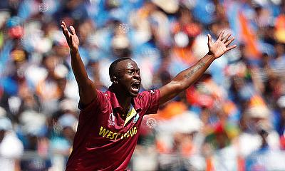 West Indies' Kemar Roach