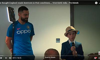 We thought England would dominate in their conditions.... Virat Kohli India - Pre Match