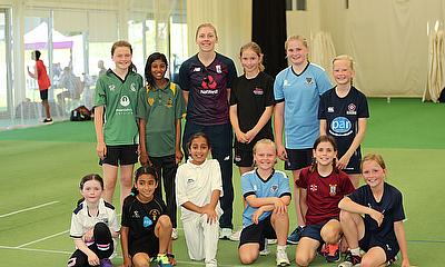 Dreams come true as 'Heather's pride train with England cricket team