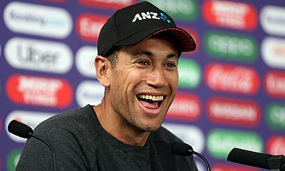 New Zealand's Ross Taylor during the press conference