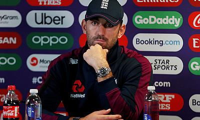 England's Liam Plunkett during the press conference