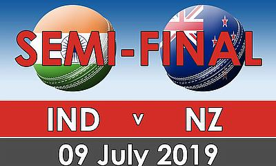CWC 2019 Semi Finals -  India v New Zealand