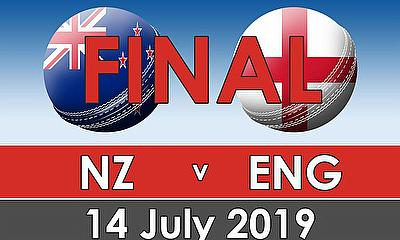 Cricket World Cup 2019  Final - New Zealand v England