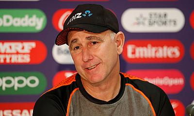 New Zealand head coach Gary Stead during a press conference