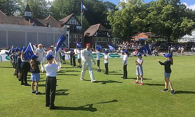 Pattonair supports Chesterfield Borough Council in welcoming over 300 school children to Chesterfield Festival of Cricket