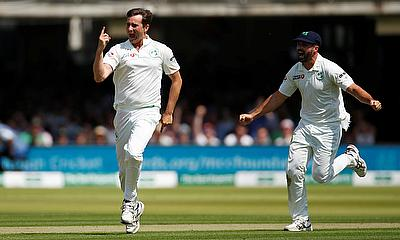 An extraordinary first day of the England v Ireland Test Match at Lord's