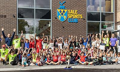 Cricket World Cup visits Sale Sports Club