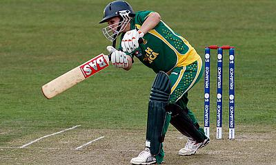 Mignon du Preez of South Africa in action