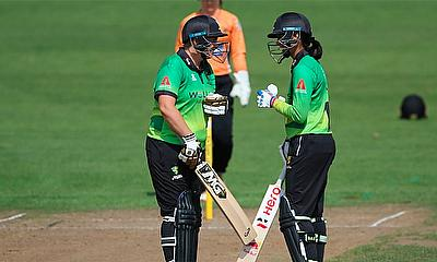 Kia Super League - half centuries for Heather Knight and Fran Wilson today
