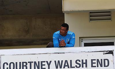 Shannon Gabriel looking out from the Courtney Walsh End