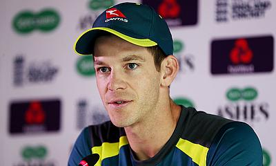Tim Paine Speaks Following Day One Against Derbyshire