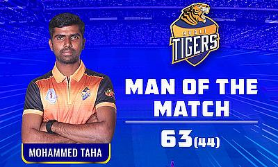 Taha compiled a 44-ball 63