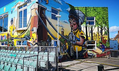 Gloucestershire CCC Bring Street Art to the Bristol County Ground
