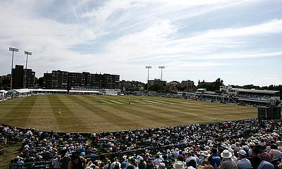 Sussex cricket ground view