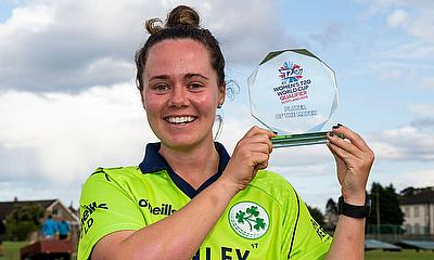 Delany won Player of the Match v Netherlands