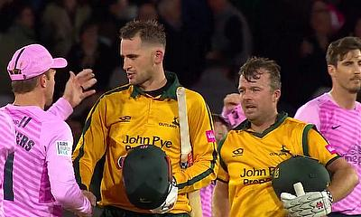 Notts Outlaws through to Vitality Blast Finals day after 10 wicket win over Middlesex