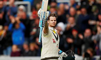 Steve Smith spoke to the media after scoring a double century