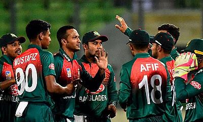 Bangladesh won by 39 runs
