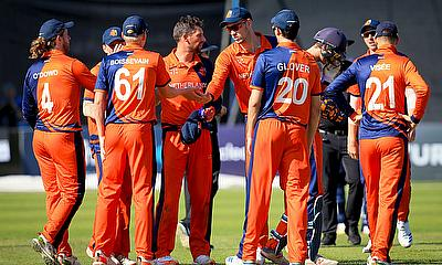 Netherlands beat Ireland by 6 wickets in Tri Series T20I