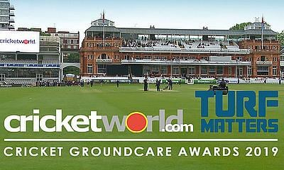 Cricket World and Turf Matters Groundcare Awards 2019
