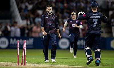 Pakistan international Faheem Ashraf will return to Northamptonshire for the opening half of the 2020 season.