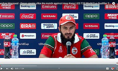 Oman beat Hong Kong by 7 wickets - the captains post match interviews | ICC T20 World Cup Qualifier 2019