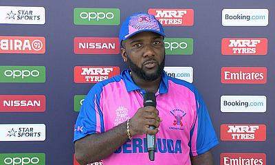 Rodney Trott Speaks After Bermuda Lost to Namibia