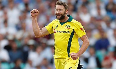 Andrew Tye injured