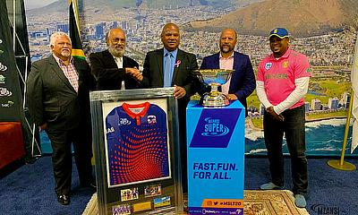 Dale Steyn and Cape Town Blitz Meet Cape Town Mayor