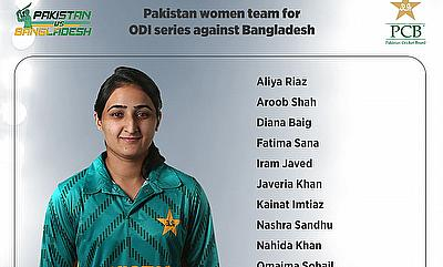 Pakistan announce squad for Bangladesh women ODIs