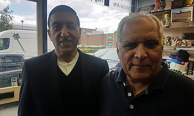 Pictured with Javaid Iqbal of Malik Sports, Slough - September 2019