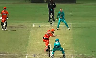 Brisbane Heat v Perth Scorchers Highlights