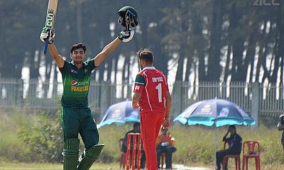 Haider's Century Guides Pakistan to Thumping Win Over Oman