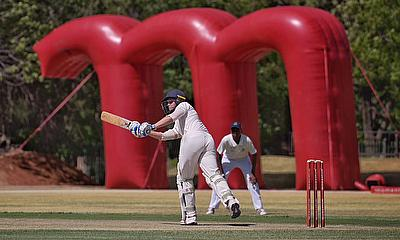 MFG _ Grey Bloem batsman in action against Rocklands RPC