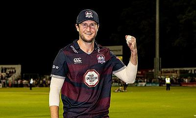 Alex Wakely Signs 1 Year Contract Extension with Northamptonshire CCC
