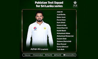 Pakistan names squad for Sri Lanka Tests