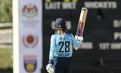 Wyatt And Beaumont Tons Take England To ODI Win