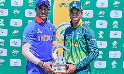 Divyaansh Saxena and Tilak Varma bat visitors to victory over SA u19s in opening Youth ODI
